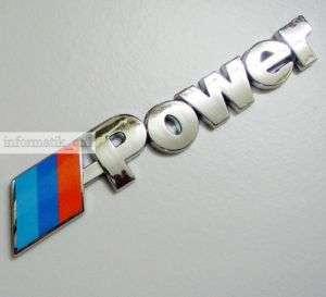 neu Auto Aufkleber Chrom M Power für BMW 3D car sticker