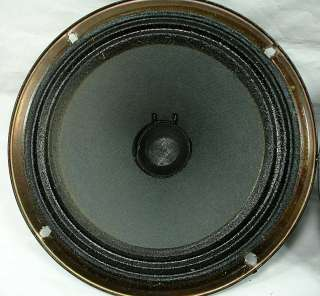 Pair Vintage Magnavox 8 Stereo Speakers Woofers ~ Free Shipping