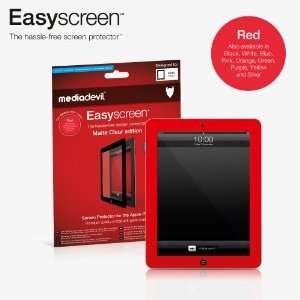 MediaDevil Easyscreen bubble free Screen Protector: RED