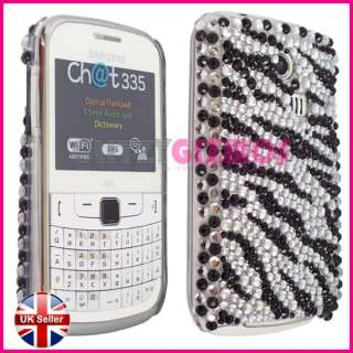 ZEBRA CASE COVER FOR SAMSUNG CHAT CH@T335 S3350