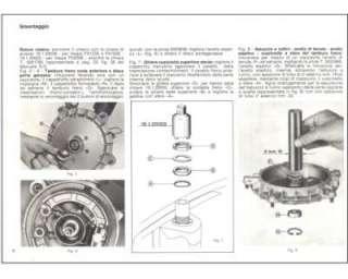 Manuale di Officina per Piaggio Vespa PX 125 150 200 E