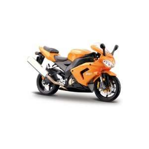 Kawasaki Ninja ZX 10R Orange Maisto Toys & Games