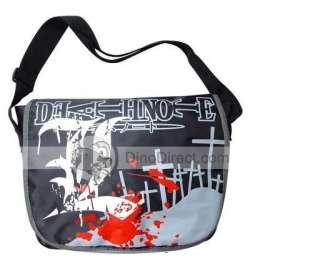 Wholesale DEATH NOTE L Mark Anime Messenger Leather Shoulder Bag