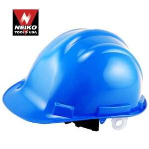 Neiko Tools USA Safety Hard Hat Helmet, Blue Home