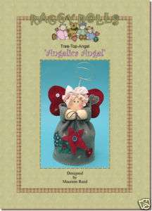 Primitive/Homespun RAG DOLL ANGEL SEWING/CRAFT PATTERN