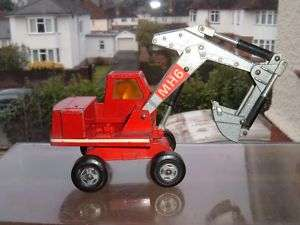 MATCHBOX HYDRAULIC EXCAVATOR SHOVEL DIGGER IN USED !!