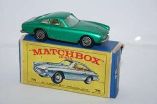 MATCHBOX LESNEY No75 FERRARI BERLINETTA CAR MIB