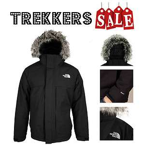 THE NORTH FACE MENS NANAVIK WATERPROOF INSULATED PARKA JACKET   BLACK