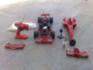 Ferrari F1 2004 radiocomandata con motore a Rho    Annunci