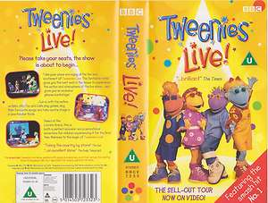 TWEENIES LIVE VHS VIDEO IN VGC