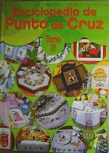 ENCICLOPEDIA DE PUNTO DE CRUZ Tomo III   Letras G, H, I