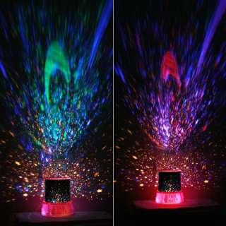 Romantic Home Star Master Night Lighting Projector