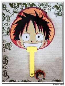 One Piece Manga Anime Evantail LUFFY chopper ワンピース