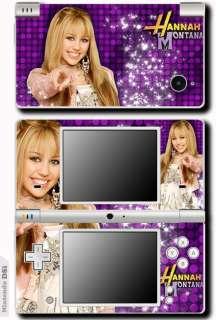 Hannah Montana Miley Cyrus SKIN STICKER NINTENDO DSi #4
