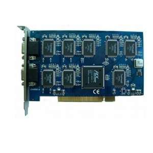 8 channel dvr card 8 ch real time pci capture card / / china