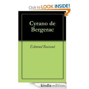 de Bergerac (French Edition): Edmond Rostand:  Kindle Store