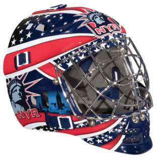 Franklin Sports New York Rangers NHL Team SX Comp GFM 100 Youth Goalie