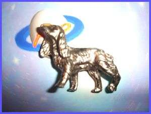 NON KINDER METAL   CANICHE CHIEN ARGENT 35 MM   ANIMAUX