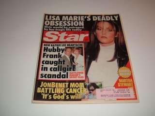 STAR MAGAZINE LISA MARIE PRESLEY KATHIE LEE GIFFORD