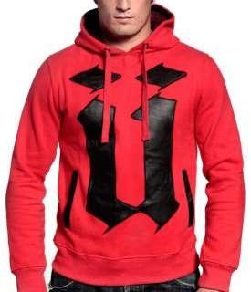 shirt à capuche UNKUT ** Osaka Hoody ** Rouge / Noir (Booba   ünkut