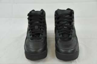 NIKE AIR MAX 90 BOOT (GS) BLACK 317219 381 (#5922) 5Y