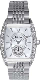 Bulova Marine Star Diamond MOP Womens Watch 96R50