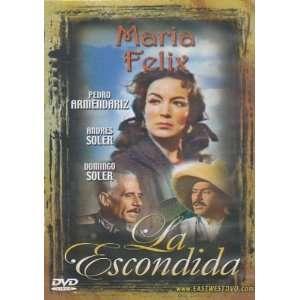 La Escondida [Slim Case] Maria Felix, Pedro Armendariz