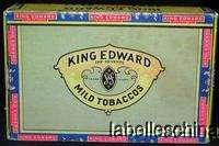 KING EDWARD IMPERIAL MILD TOBACCOS / CIGAR BOX