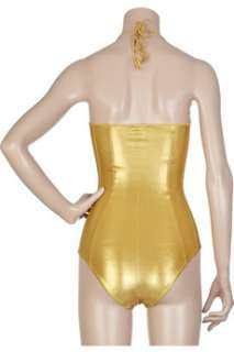 Tomas Maier Star lamé swimsuit   88% Off Now at THE OUTNET