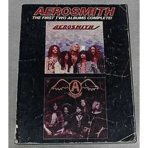 Piano/Vocal/Guitar/Chords]: Steven Tyler, Joe Perry, Aerosmith: Books