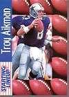 TROY AIKMAN DALLAS COWBOYS NFL STARTING LINEUP 1997 SLU CARD