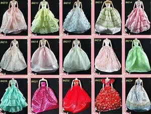 Barbie Doll Clothes dress & shoes 20 Item