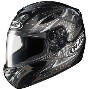 HJC CS R2 Storm Full Face Motorcycle Helmet MC 5 Black Large L 214 954