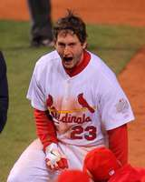 David Freese, St. Louis Cardinals, World Series Game 6, 10/27/2011