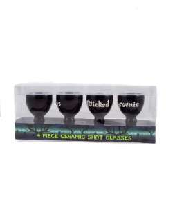 Supplies / Set of 4 Ceramic Shot Glasses