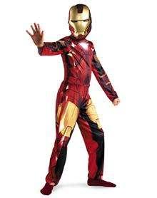 Iron Man 2 Movie Iron Man Mark IV Child Costume