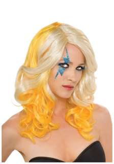 Celebrity Costumes Lady Gaga Costumes Blonde and Yellow Lady Gaga Wig