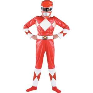 Power Ranger Red Ranger Classic Muscle Child Costume, 60696