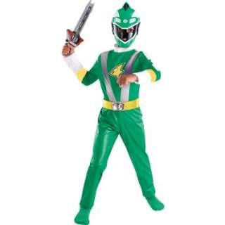 Halloween Costumes Power Rangers Green Ranger Classic Toddler/Child