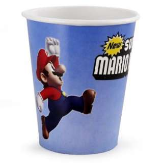 Halloween Costumes Super Mario Bros. 9 oz. Cups