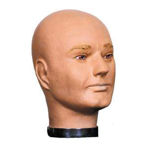 Deluxe Male Mannequin Head   Decorations & Props