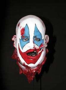 Crazy Clown Head   Decorations & Props