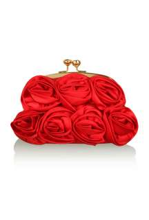 Love Moschino  Red Corsage Bag by Love Moschino