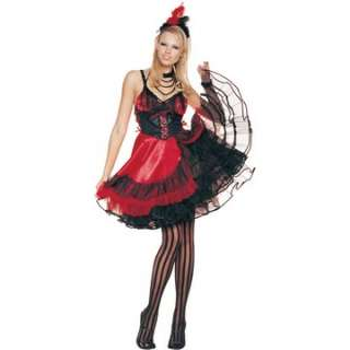 Adult Sexy Saloon Girl Costume   The sexy saloon girl Halloween
