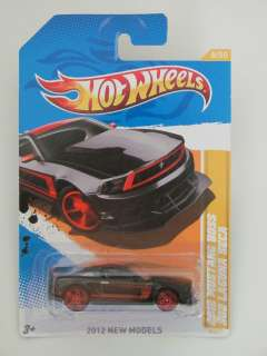 HOT WHEELS 2012 MUSTANG BOSS 302 LAGUNA SECA NEW MODELS
