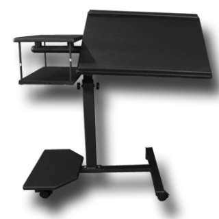 LAPTOP COMPUTER NOTEBOOK DESK MOBILE TABLE STAND CART LT 5