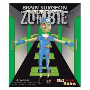 Brain Surgeon Zombie Bendable Action Figure Toy Toys & Games