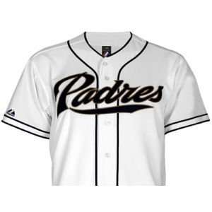 San Diego Padres VF Activewear MLB Youth Blank Replica Jersey