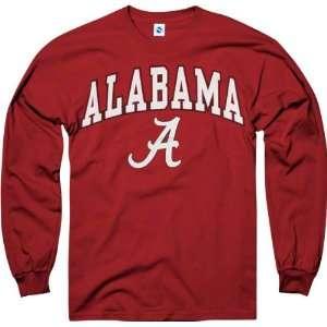 Alabama Crimson Tide Crimson Perennial II Long Sleeve T