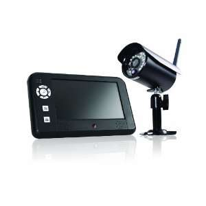 First Alert DW 700 Digital Wireless Security Recording System with 7